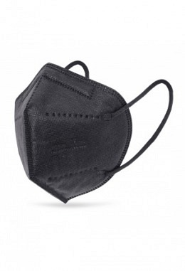 FFP2 mask black (25 pieces in a box)