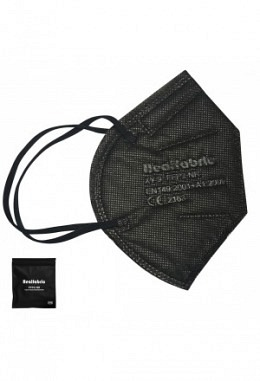 FFP2 mask black (10 pieces in box)