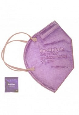 FFP2 mask light violet (10 pieces in box)