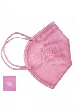 FFP2 mask pink (10 pieces in box)