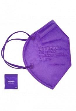 FFP2 mask violett (10 pieces in box)