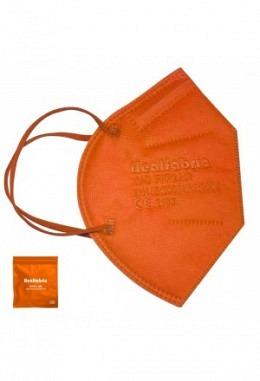 FFP2 mask dark orange (10 pieces in box)