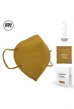 FFP2 mask brown II (10 pieces in box)