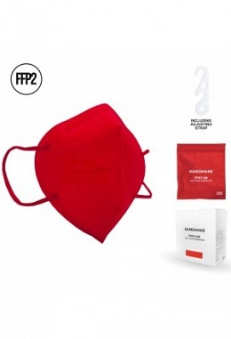 FFP2 mask red II (10 pieces in box)