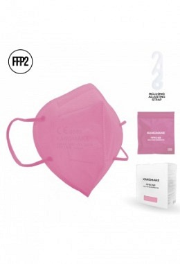 FFP2 mask pink II (10 pieces in box)