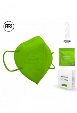 FFP2 mask light green II (10 pieces in box)