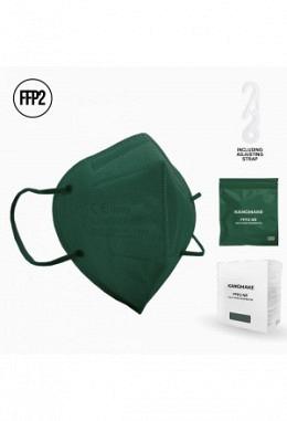 FFP2 Maske tannengruen II (10 Stück im Karton)