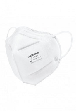 FFP2 mask white (20 pieces in a box)